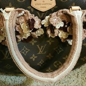 5753a7707323 Other - Handmade crochet handbag handle cover